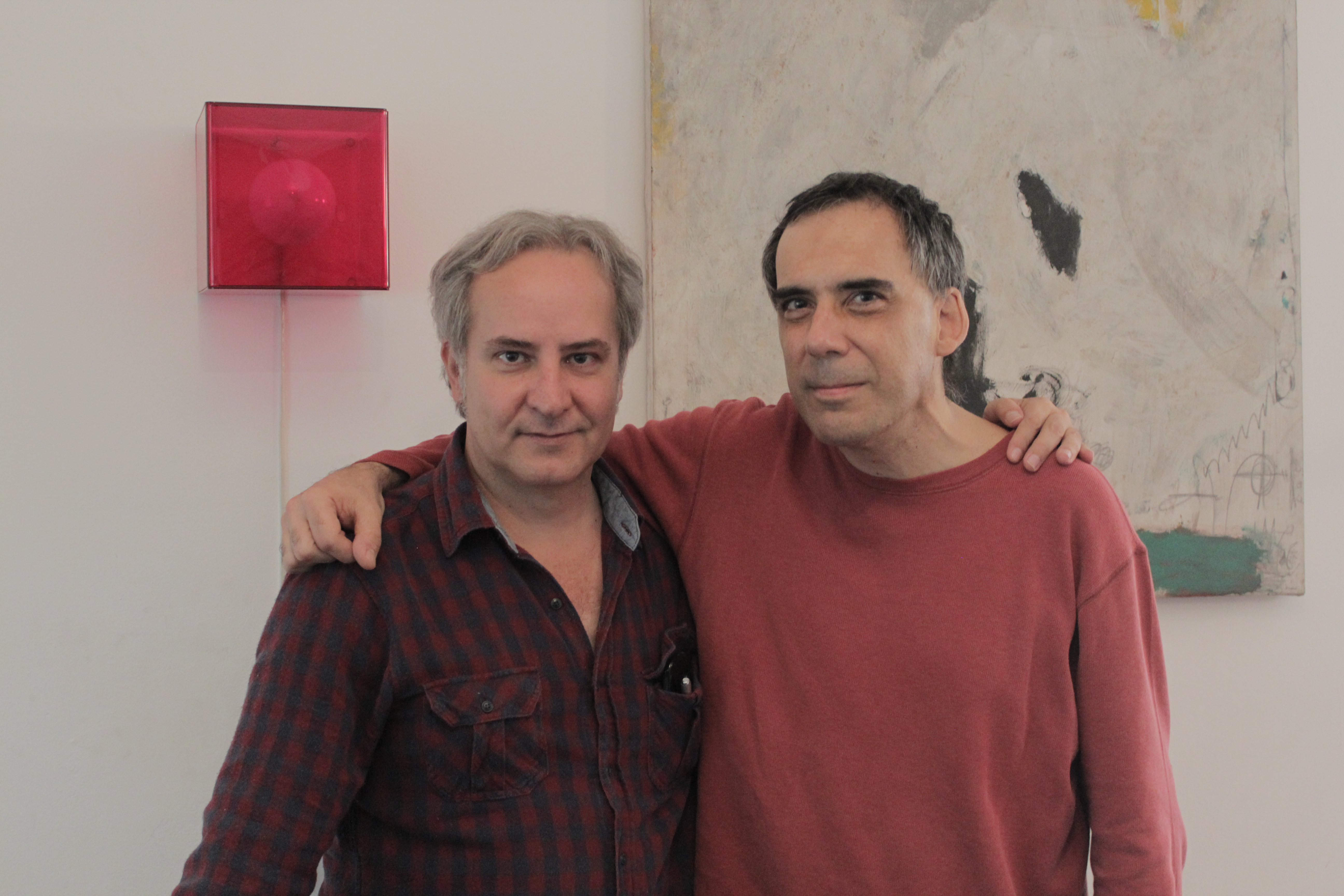 Com Arnaldo Antunes, São Paulo (2014). Foto Robson Timóteo