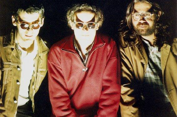 Com Ricardo Garcia e Madan, São Paulo (1996). Foto Juvenal Pereira
